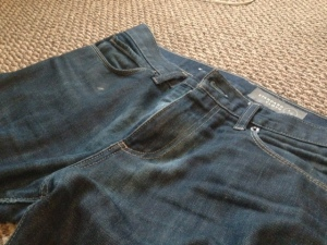 Standard Cloth jeans by Urban Outfitters.