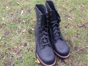 As reviewed: Wolverine 1000 Mile Austen boots in black. The perfect shade and style for a winter day like today.