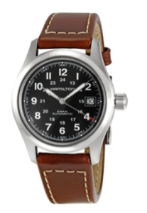 Black and brown? In a watch? Yes and yes.