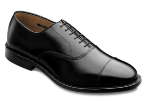 Quite possibly the perfect black shoe. The Park Avenue by Allen Edmonds