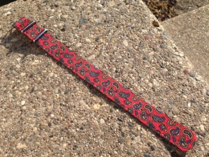 The full patterned paisley NATO watch strap.