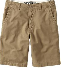 Forgo the bulky cargo pockets for something a bit more streamlined, like this Old Navy pair.
