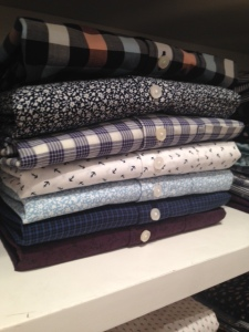 Some of the brand's washed casual shirt offerings.
