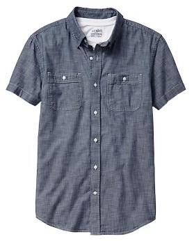Chambray at an affordable price.
