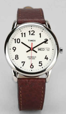 A clean and classic Timex.