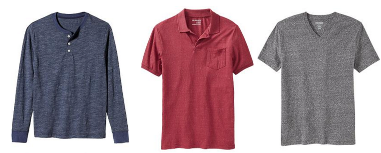 In a wide spectrum of colors and styles, Old Navy's your go-to for casual shirting.