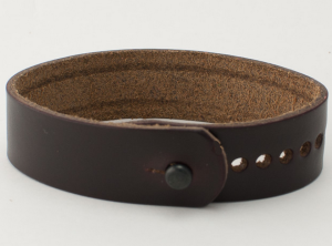 Changing up the typical black or brown-leather strap.