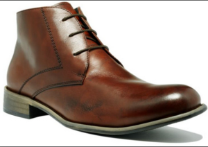 The ever-versatile brown chukka boot.