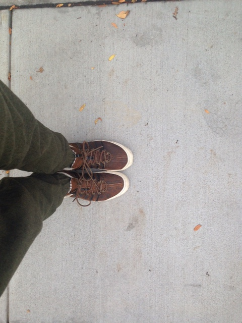 More rugged than Frank & Oak's, but just at ease with slim joggers.