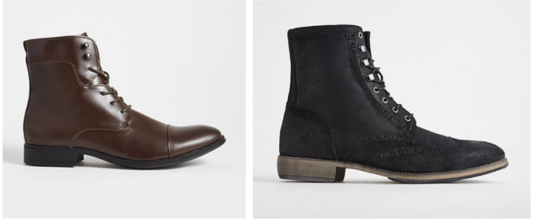 Slim boots that offer a change of pace from clunkier options.