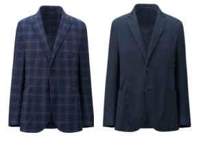 Either a more striking plaid or a regular navy, take your pick.