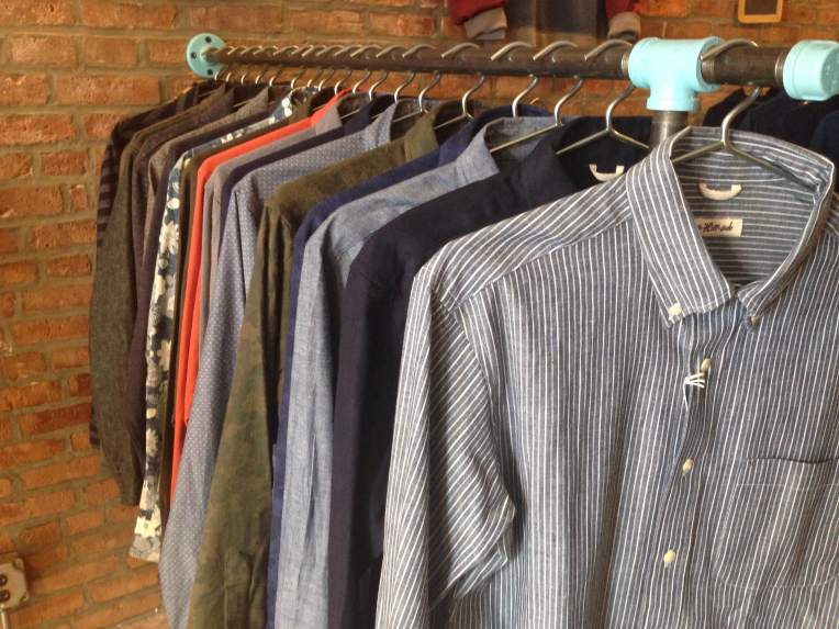 Soft-washed shirts from Gitman Brothers Vintage. Very well-made.