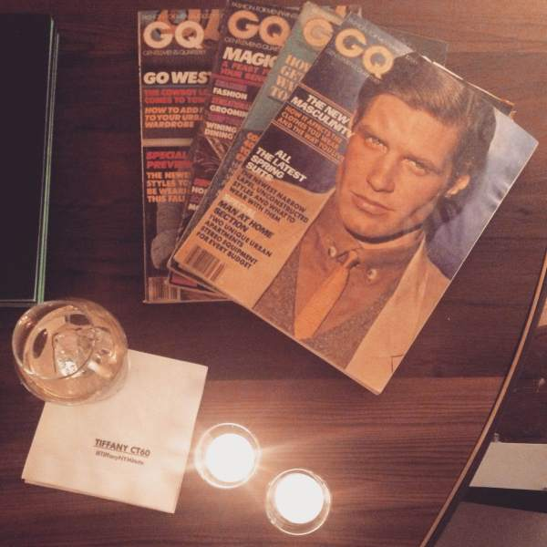 Vintage GQ magazines, fine watches & fine whiskey — the preview of the CT60 Collection.