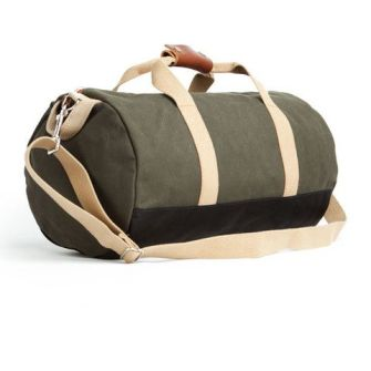 Sturdy exterior, nice space and a versatile olive color make this one travel-ready bag.