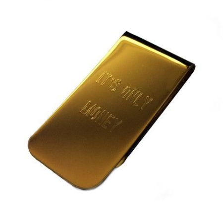 A money clip like this one from Owen & Fred will help you keep track of cash once you slim down that wallet.