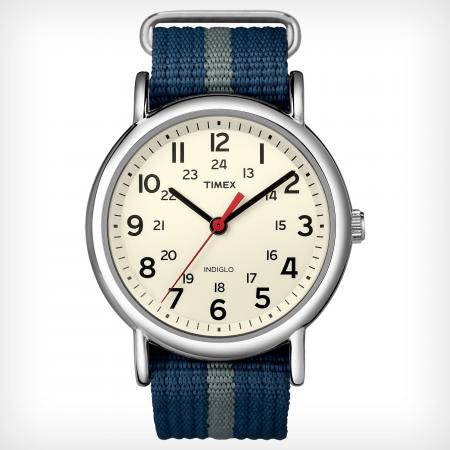 The Timex Weekender — customize it any which way you please.