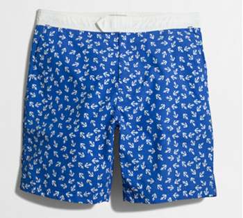 The styling touches of shorts combined with the functionality of swim trunks.