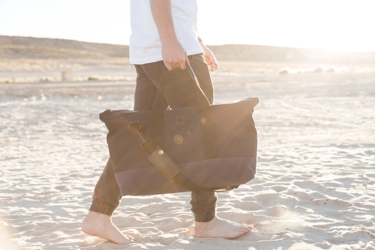 The Newton Weekender from Jack + Mulligan — made right and made in the USA.