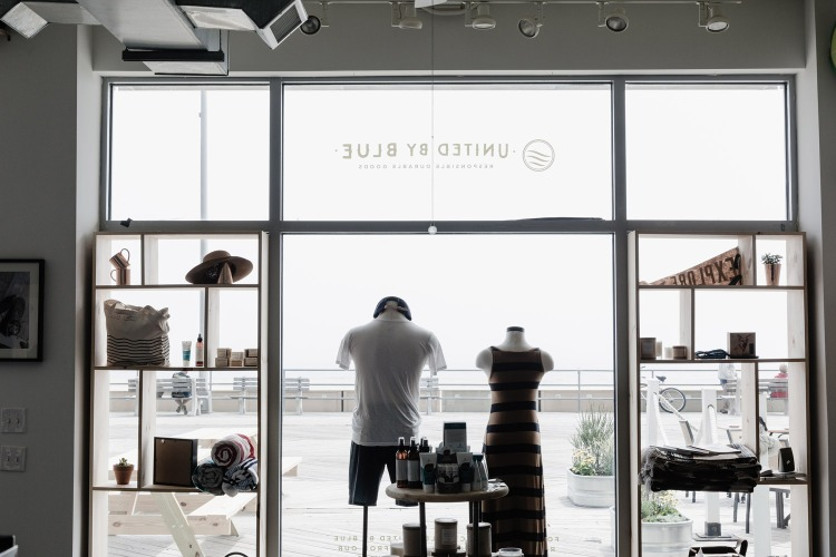 The brand's Asbury Park, New Jersey store. Photo courtesy of United By Blue.