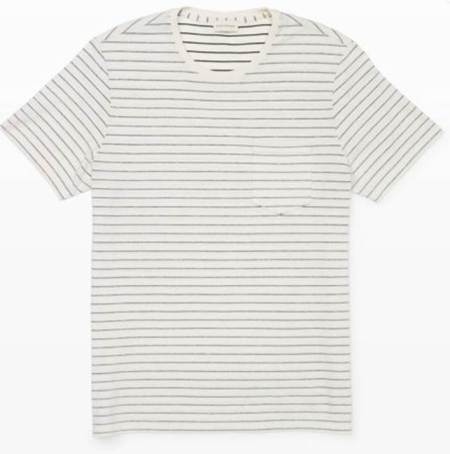Soft fabric, stripes and a slim fit check all the boxes for a great T-shirt.