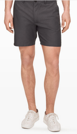 A slim fit, basic colors and imported cotton fabric make these Club Monaco shorts a winner.
