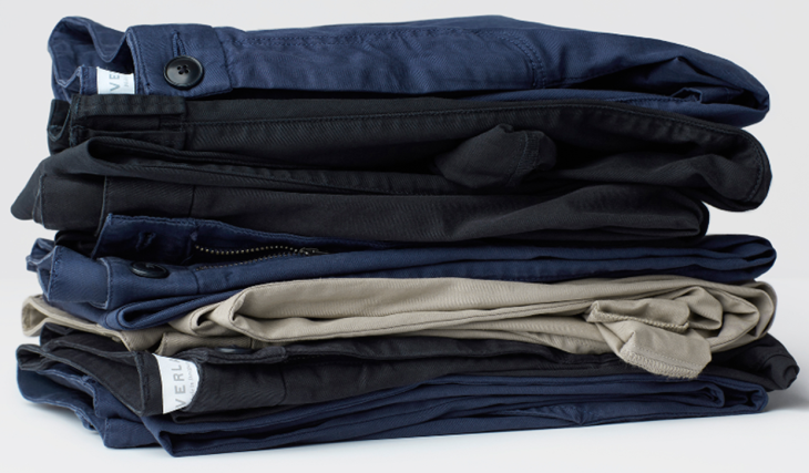 They're finally here, folks. A long-awaited release from buzzed-about Web retailer Everlane.
