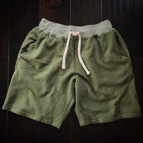 The sweatshorts will also soon be available in a brand-new Moss colorway.