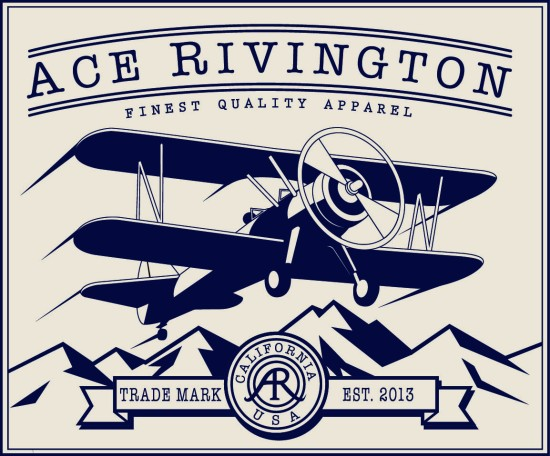 Aviation, as you might guess, figures strongly into the backstory of this brand. Photo courtesy of Ace Rivington.