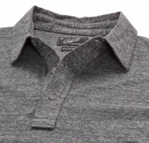 One of three color options for this style of soft-knit polo.