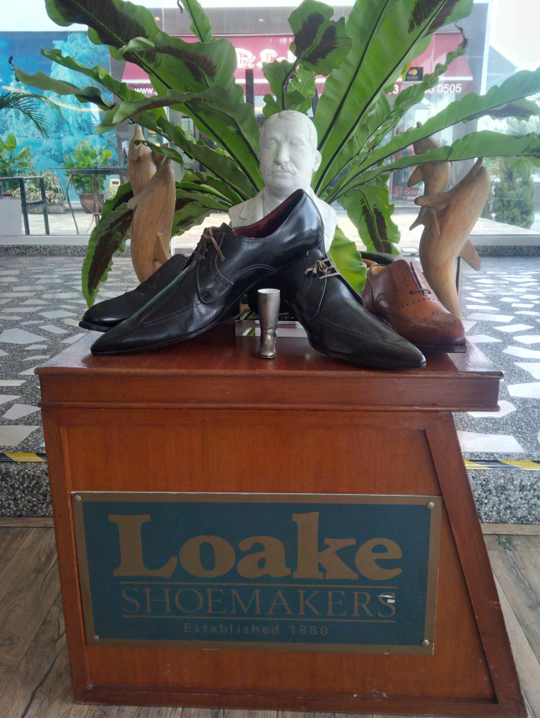 More Loake shoes on display at this veritable shoe lover's dream.