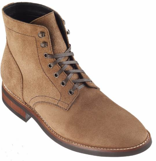 A sleeker profile than most boots gives this pair an edge for fall.