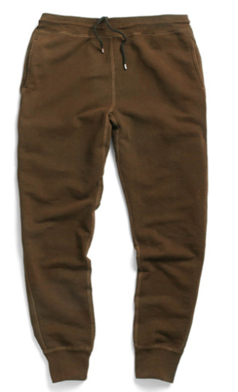 Just sweatpants, right? Think again, because they combine premium materials and a slim cut -- just like your best chinos.