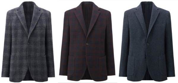 As previously seen on this site's Fall Style Wish List, Uniqlo delivers on another great fall & winter blazer.