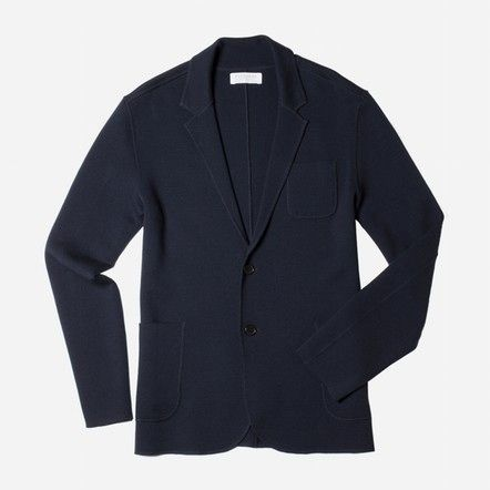 Part blazer, part sweater and all casual style in one high-quality Everlane piece.