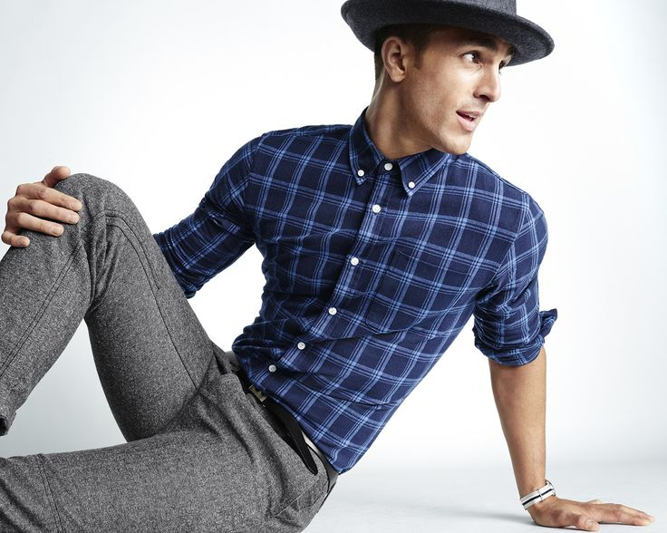 A shirt-and-pant offering from The Hill-Side's collaboration with GAP, finished off with one of the brand's signature hats.