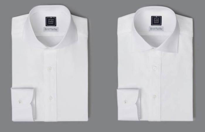 Take your pick of two collar styles, both for a tremendous price from Standard Shirt.