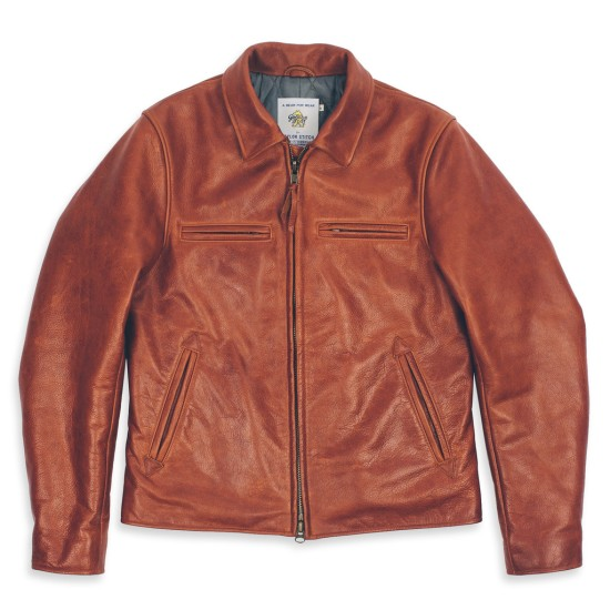 A contemporary fit and quilted lining keep this jacket sleek and functional.