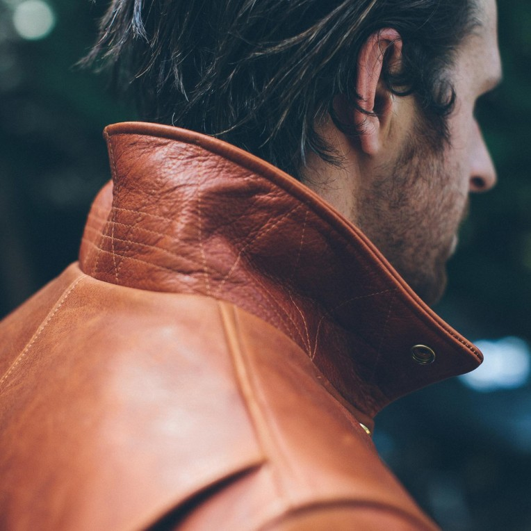 A sold-out style via Taylor Stitch that gets a lot of the details right when it comes to the perfect leather jacket.