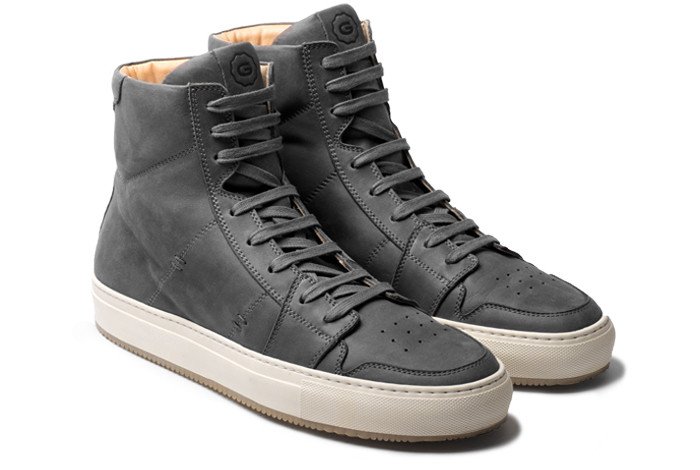 An updated take on the classic high-top.