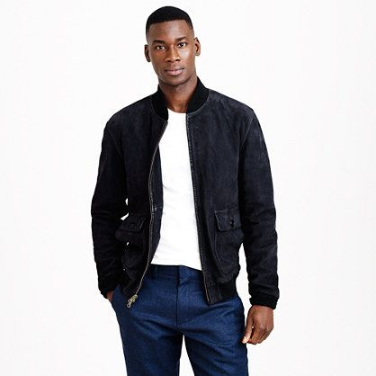 A pricey but undoubtedly sleek take on the bomber jacket via J. Crew.
