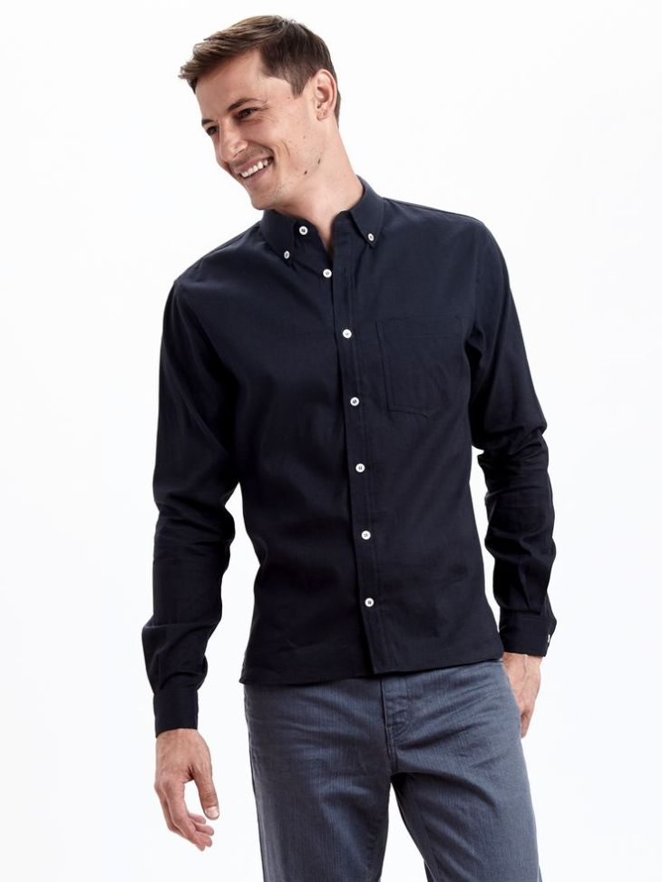 A simple shirt made in a not-so-simple way, via the new Zady Man collection.