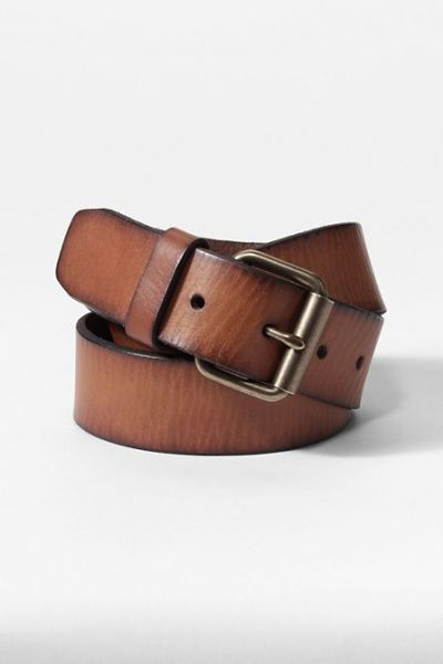 Go for a bit of visual interest with your belt, as with the rest of your outfit, and you'll be pleased with the results.