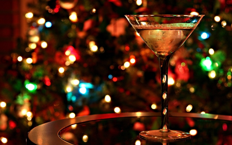 How do you take your martini, Mr. Bond? (Just don't hit 'em too hard at your holiday party).