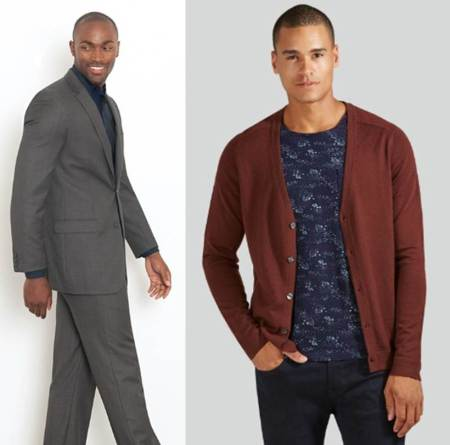 Two options, one dressy and one more casual -- but both affordable.
