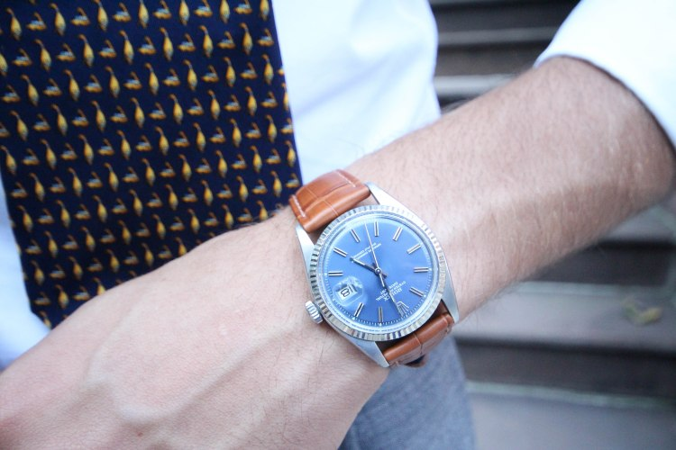 A Rolex Datejust is just one of the many terrific vintage options on rotation from Theo & Harris. Photo courtesy of the brand.