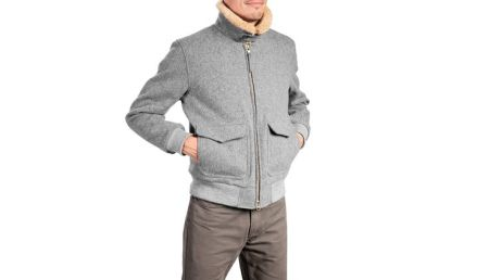 It's also available in Black, although the Grey color still works plenty well for fall & winter.