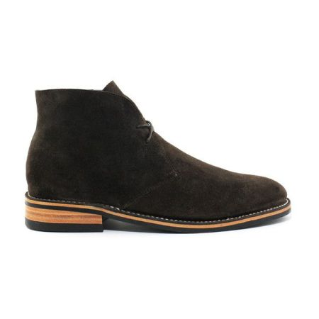 A Goodyear welt, a sharp brown suede color and a slim silhouette make these chukkas look pricier than they are -- a nice addition to the outfit.