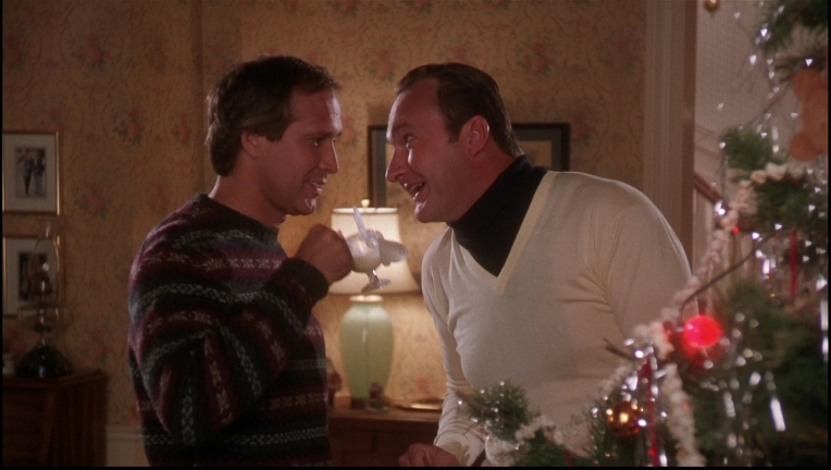 Classier than Cousin Eddie, not as bold as Clark Griswold. An in-between Christmas Style Suggestion.