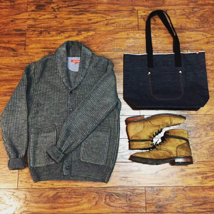 Thick-knit and ready for all kinds of cold weather -- the JackThreads Fisherman Cardigan.