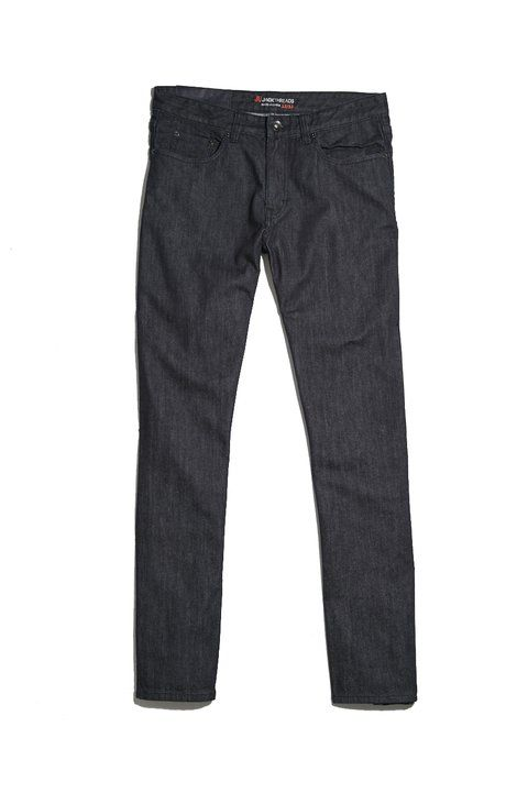 Made with a hint of stretch, this pair of denim looks cleaned-up but should wear comfortably.
